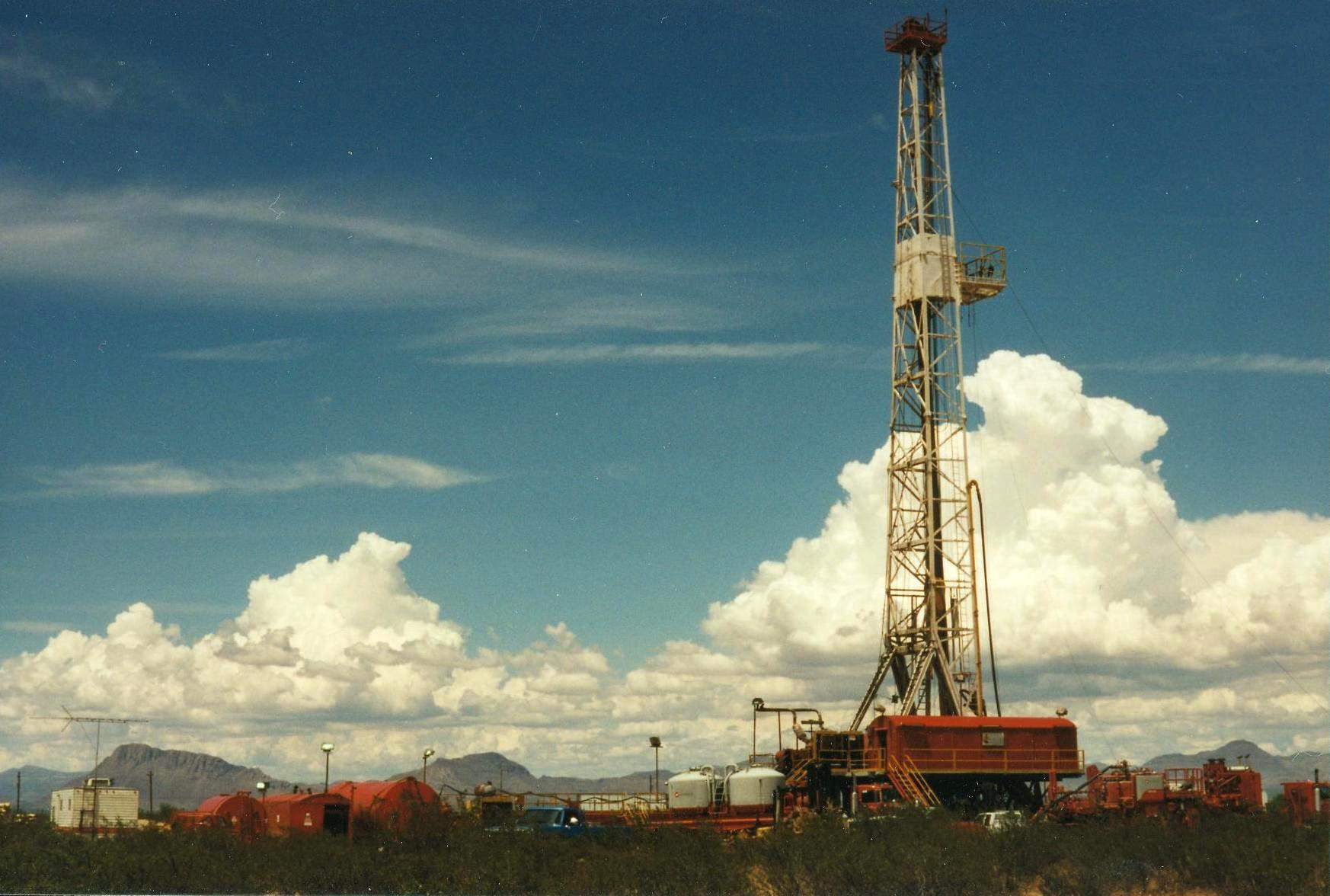 Drilling wildcat in Pedregosa Basin SE Arizona 1995