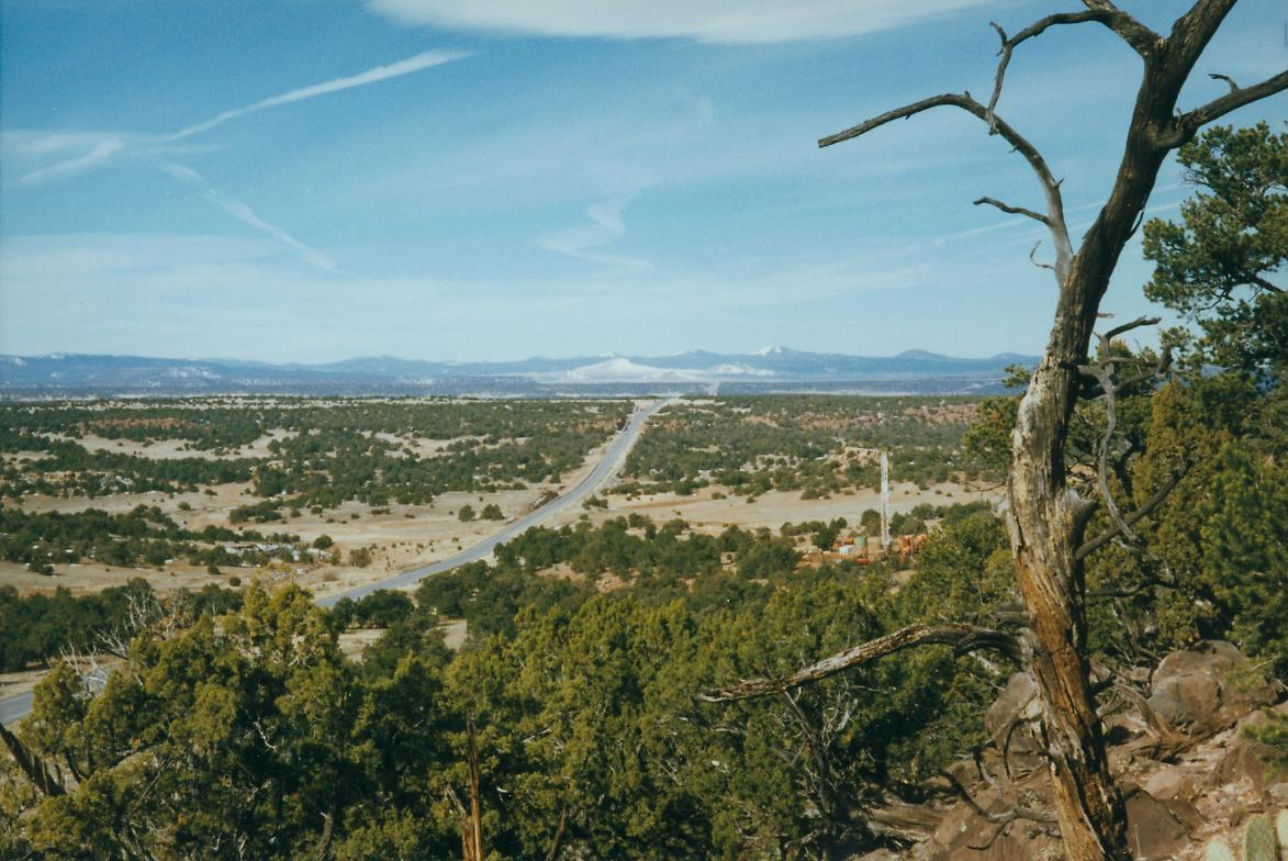 Drilling CO2 well east of Springerville in 1997